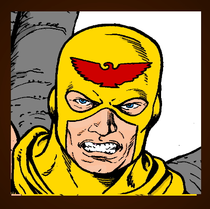 Hawkman Button