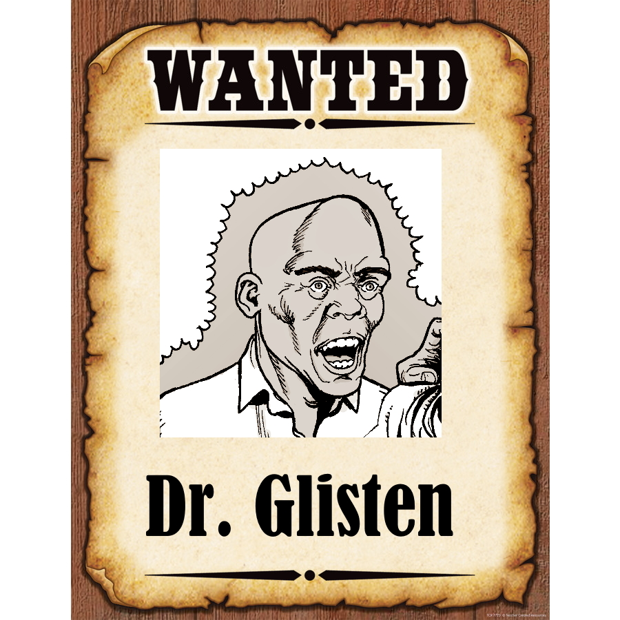 Wanted Poster Glisten