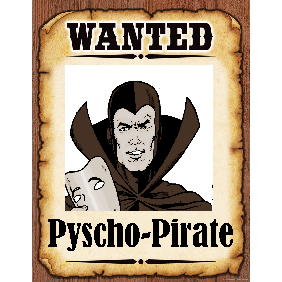 Wanted Poster TPsycho Pirate