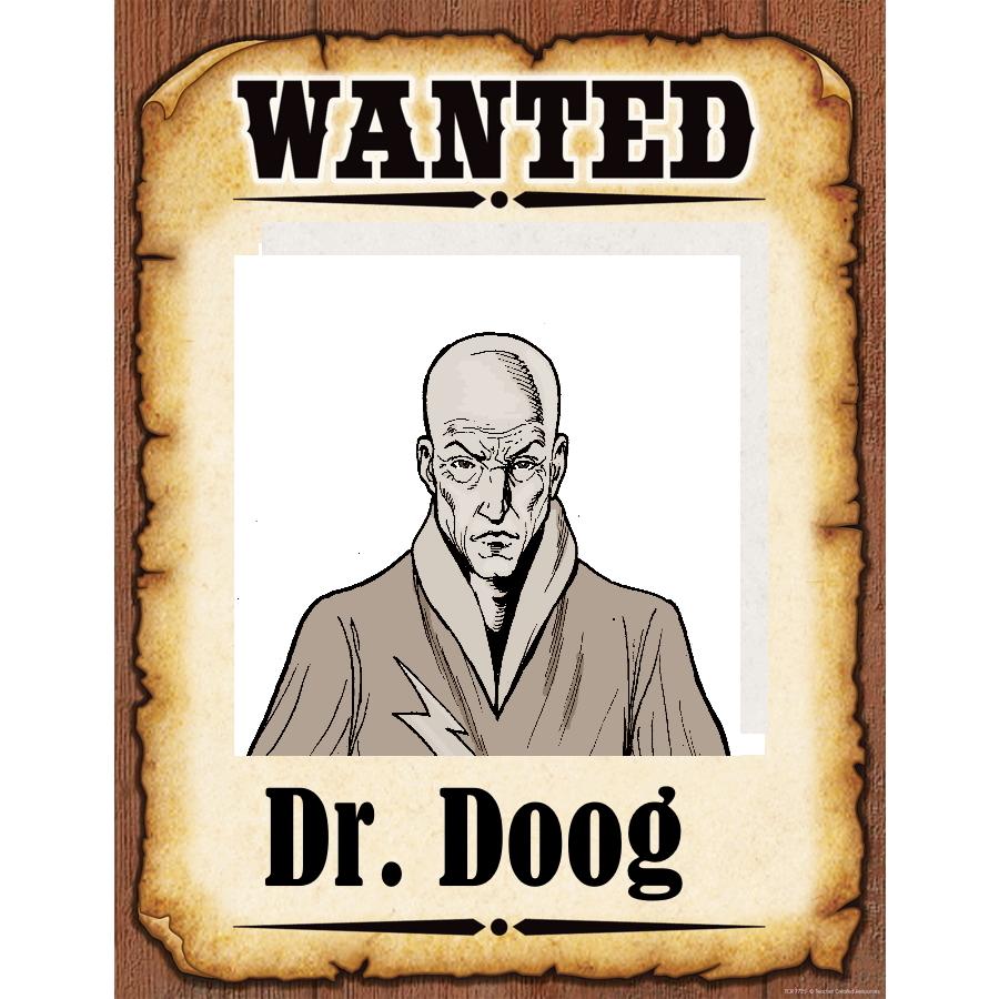 Wanted Poster doog