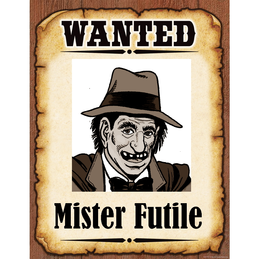 Wanted Poster Mister Furtile