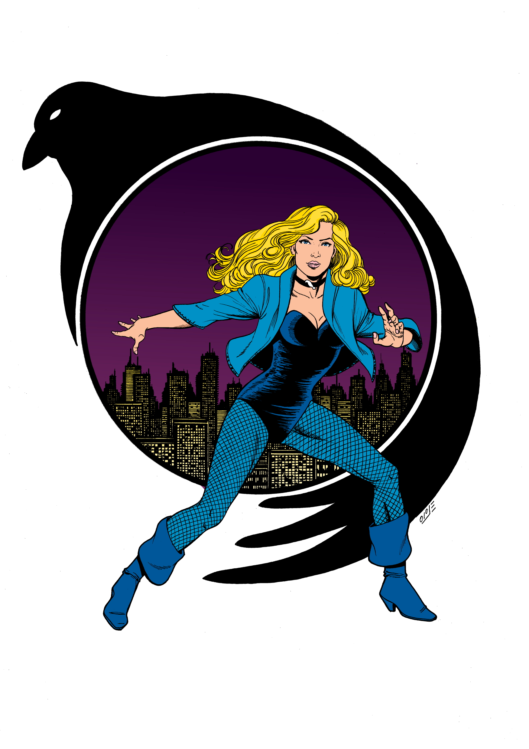 black canary resize