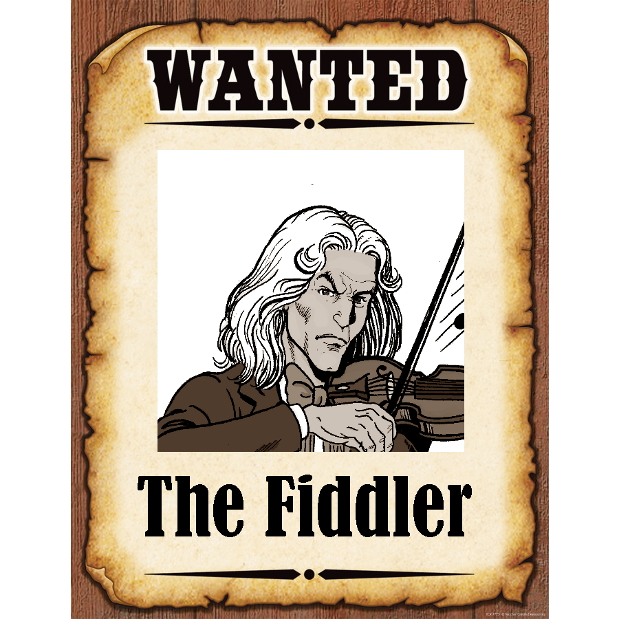 Wanted Poster Fiddler