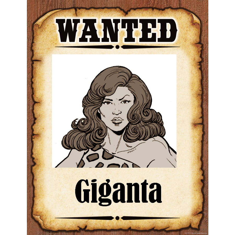 Wanted Poster Giganta