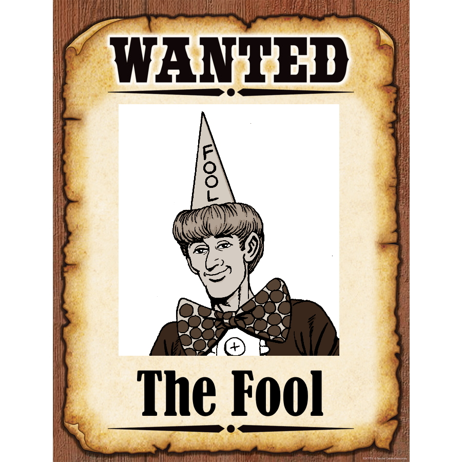 Wanted Poster Fool