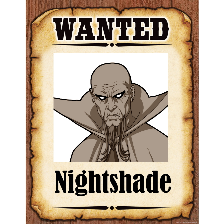 Wanted Poster Nightshade
