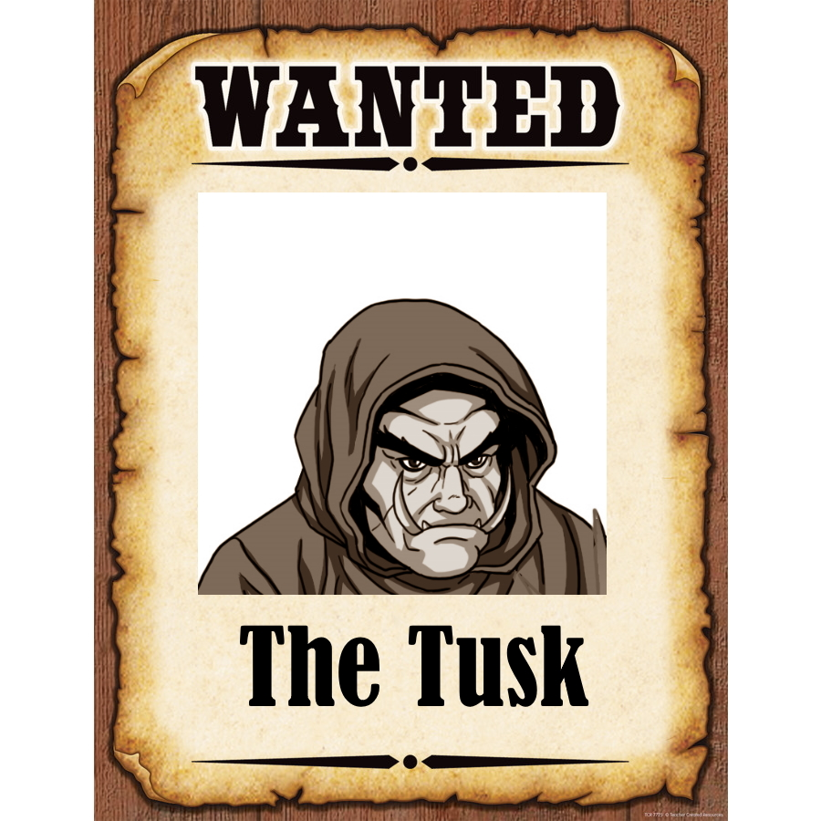Wanted Poster The Tusk