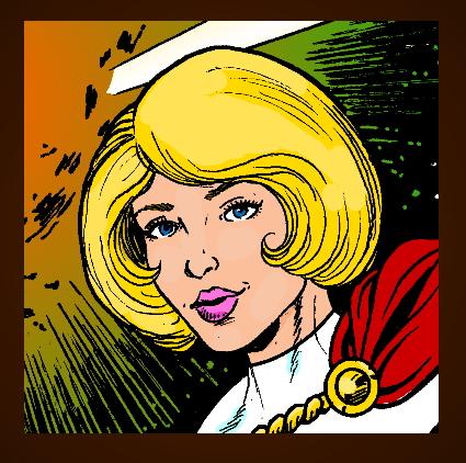 Power Girl Button