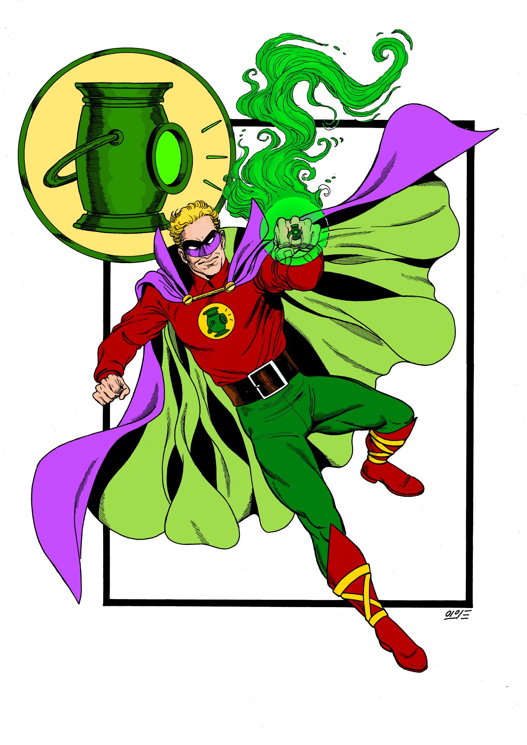 green lantern inks resize