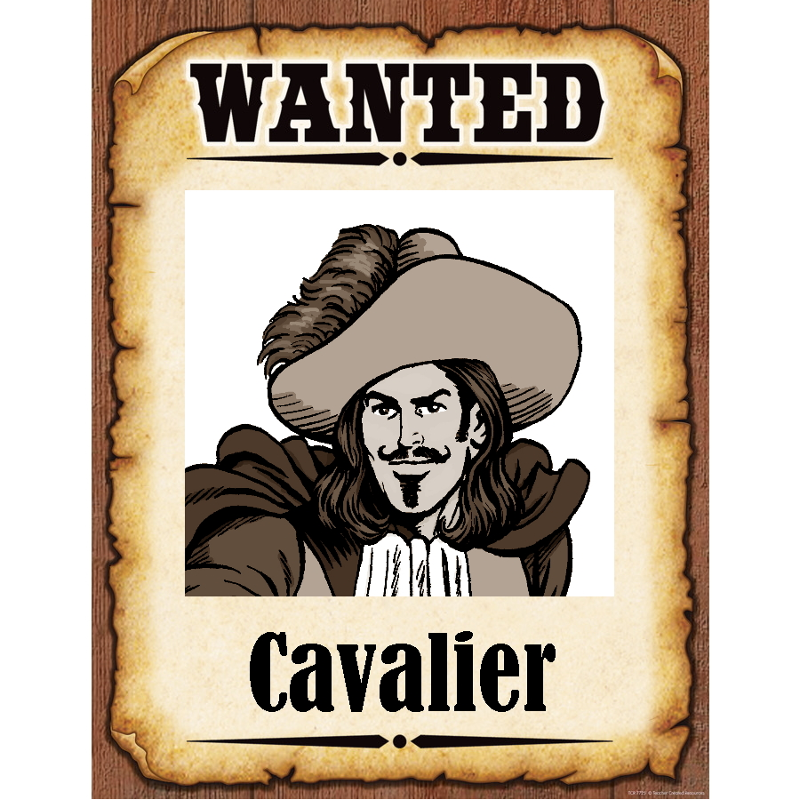 Wanted Poster Cavalier