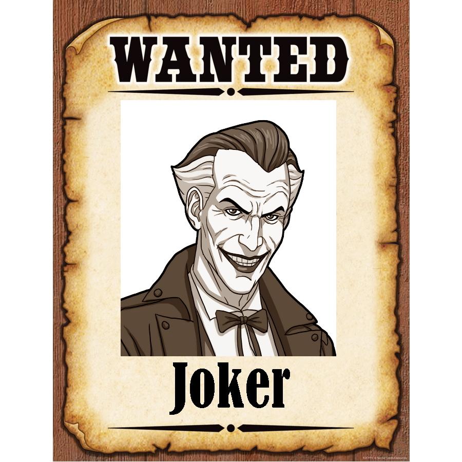 Wanted Poster Joker