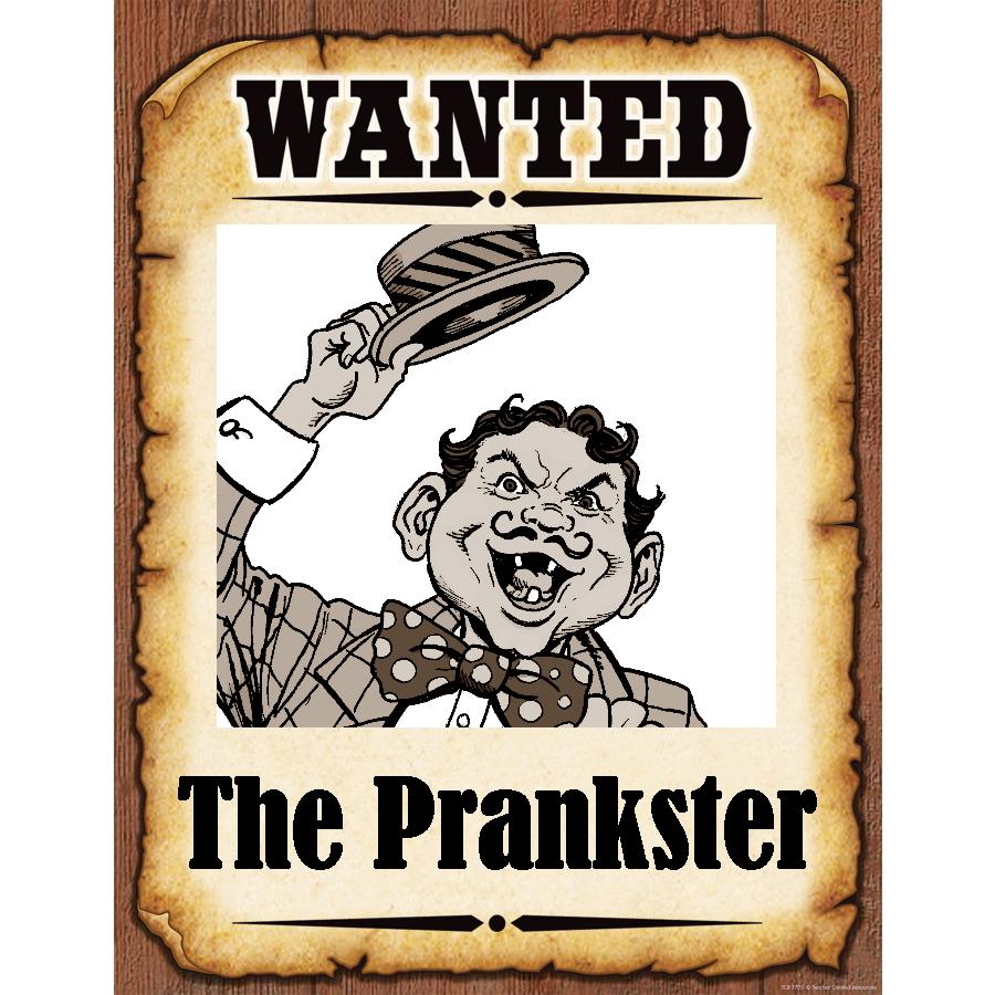 Wanted Poster Pranskter