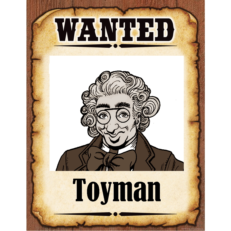 Wanted Poster Toyman
