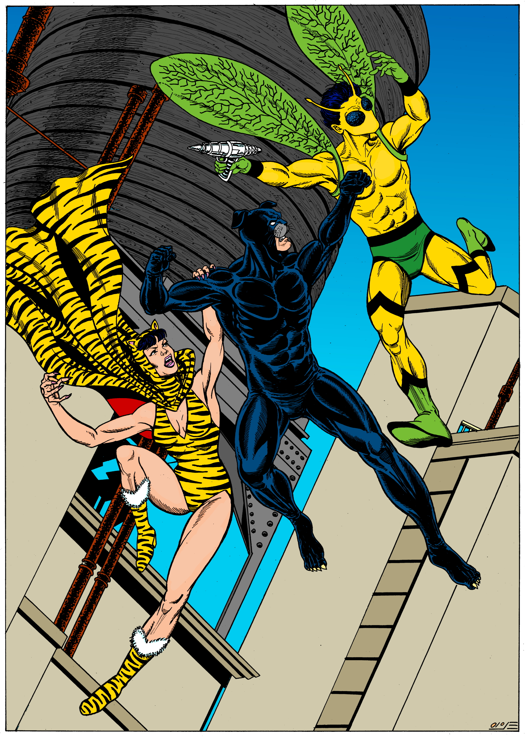 wildcat vs yellow wasp and tigress inks resize